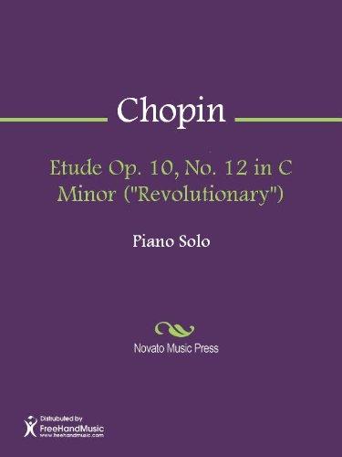 Etude Op. 10, No. 12 in C Minor (Revolutionary) PDF