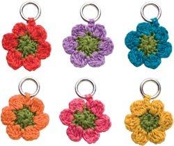 Lantern Moon Flower Stitch Markers