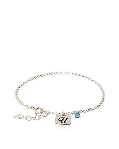 Silver One Pulsera Charms U