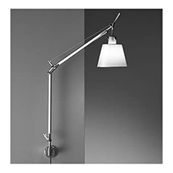 Wall Mount Bracket For Lamp : Artemide Tolomeo 1 Light Incandescent Wall Mounted with Shade and