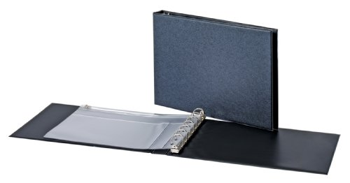 Cardinal Check Binder, D-Ring Reference, 7 Rings,1-Inch, Black (35000)