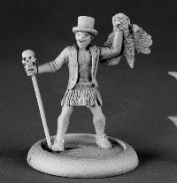Dr VooDoo Super Villain Chronoscope Miniatures by Reaper