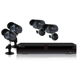 Night Owl 4 Channel H.264 DVR Kit with 4 Cameras and 500GB HardDrive