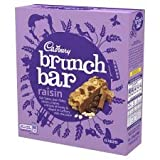 Cadbury Brunch Bar Raisin X 6 210G
