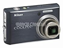 Nikon Coolpix S610 10MP Digital Camera with 4x Optical Vibration Reduction (VR) Zoom (Midnight Black)