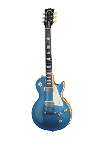 2015 Gibson ギブソン レスポールデラックス エレキギター Les Paul Deluxe in Pelham Blue[並行輸入]
