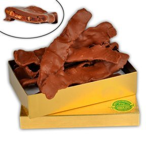 Marini's Candies Chocolate Covered Bacon 1/2 lb. Gift Box