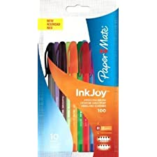 De papel Mate Inkjoy 100 rkltools bolígrafo de punta de - 10 unidades - (5 UNIDADES)