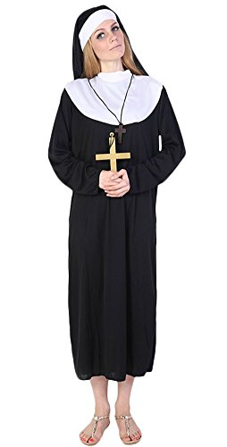 Ace Halloween Adult Women's Nun Costumes