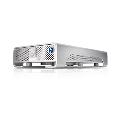G-Technology G-DRIVE with Thunderbolt USB 3.0 4TB 7200 RPM Professional-Strength External Hard Drive (0G03050)