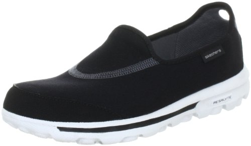 Skechers Womens Walk Slip On Black
