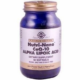 Nutri-Nano CoQ-10 Alpha Lipoic Acid - 60 - Softgel