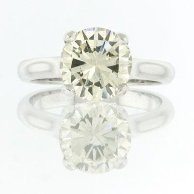 2.90ct Round Brilliant Cut Diamond Engagement