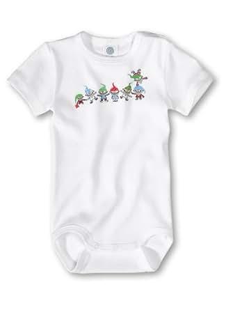 Sanetta Unisex - Baby Babybekleidung/ Unterwäsche/ Bodys 321249, Gr. 104, Weiß (10)