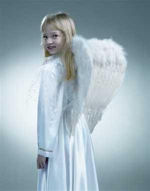 Imagen principal de Alas de ángel blanco, de unos 45 cm,
