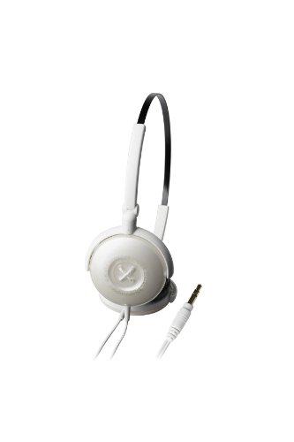 Audio Technica Athfw3Wh On-Ear Headphones, White