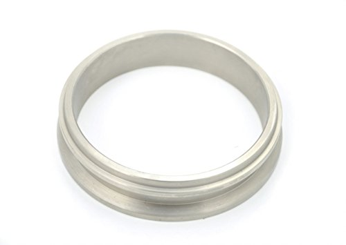 """Treadstone VTR 3.5"""" 304 Stainless Steel T4 V Band / Vband Downpipe Flange for Precision / Turbonetics / Garrett Turbos"""