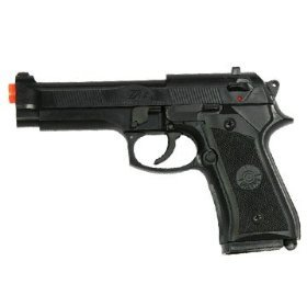 Spring Loaded Full Metal Gear Pistol Airsoft
