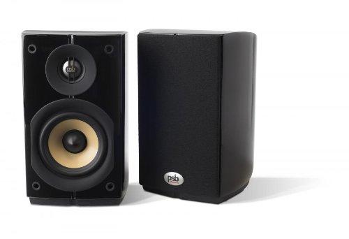 PSB Imagine Mini Bookshelf Speakers - Pair (Gloss Black)