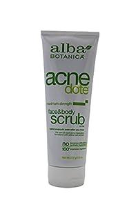 Alba Botanica: Natural ACNEdote Face & Body Scrub 8 oz (12 pack)
