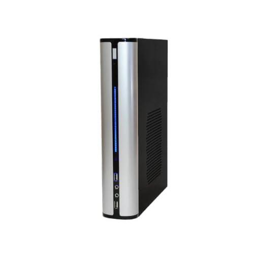 ファンレス電源搭載 SlimPc VP100 Core i7 HDD 1TB メモリ16GB Windows7PRO Office シルバー 静音 1年保証 パソコンショップaba