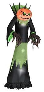 Gemmy Industries 64112 Halloween Inflatable Pumpkinhead Reaper, Lighted, 10-Ft. from Gemmy Industries