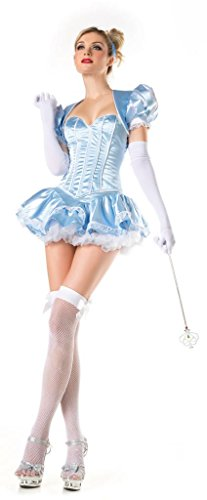 Costume Adventure Womens Deluxe Sexy Cinderella Costume Adult Cinderella Costume