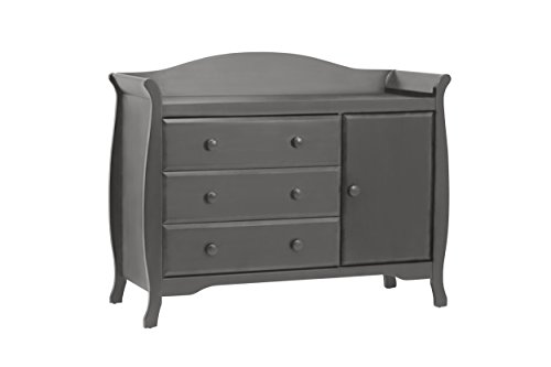 Million Dollar Baby Ashbury Combo Dresser, Manor Grey
