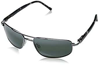 Maui Jim Kahuna Sunglasses,Gunmetal Frame/Neutral Grey Lens,one size