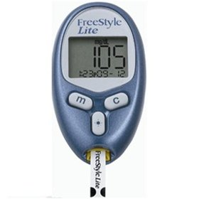 FreeStyle Lite Blood Glucose Monitoring System Diabetic Meter Kit