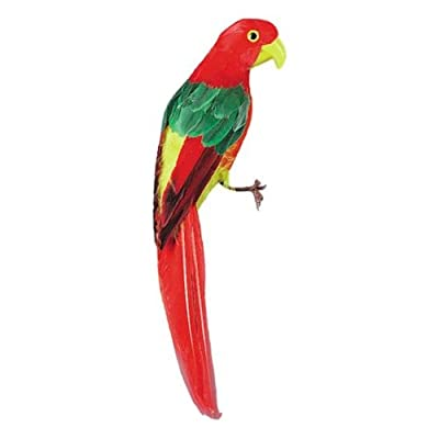 U.S Toy Company Feather Parrot Toy, 12-Inch from U.S. Toy
