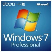 Microsoft Windows 7 Professional SP1適用済み プロダクトキーのみ