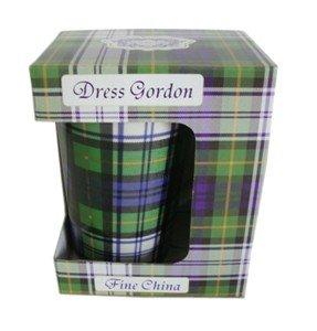 GORDON PLAID DRESS LATTE TEA MUG W/BOX