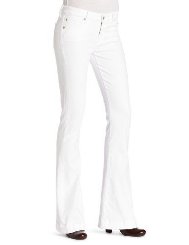 7 For All Mankind Women's Jiselle Jean in Clean White, Clean White, 26