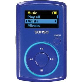 SanDisk Sansa Clip 2 GB MP3 Player (Blue)