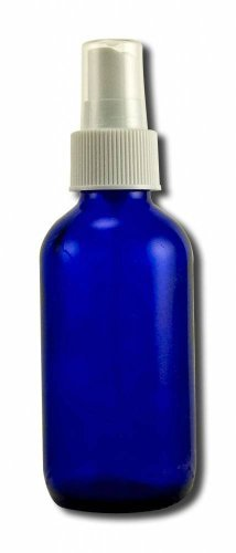 Lotus Light Pure Essential Oils: Blue Glass Bottle