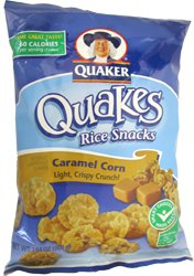 Quaker Quakes Rice Snacks Caramel Corn 7.04 oz - 6 Unit ... Quaker Rice Cakes Caramel