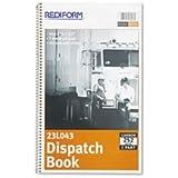 RED23L043 - Rediform Driver's Dispatch Log Book