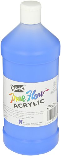 Sax True Flow Medium Bodied Acrylic Paint - Quart - Cobalt Blue