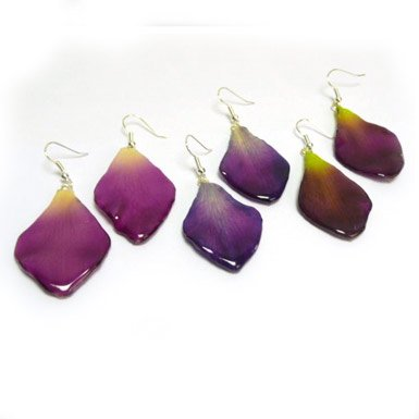Dendrobium Earrings (Assorted Colours)