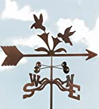 Hummingbird Weather Vane with Garden Stake