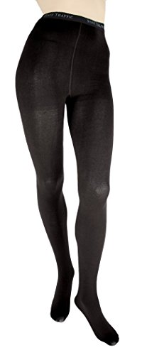 Foot Traffic Signature Combed Cotton Tights-Extra Large blk (Womens Extra Large Tights compare prices)