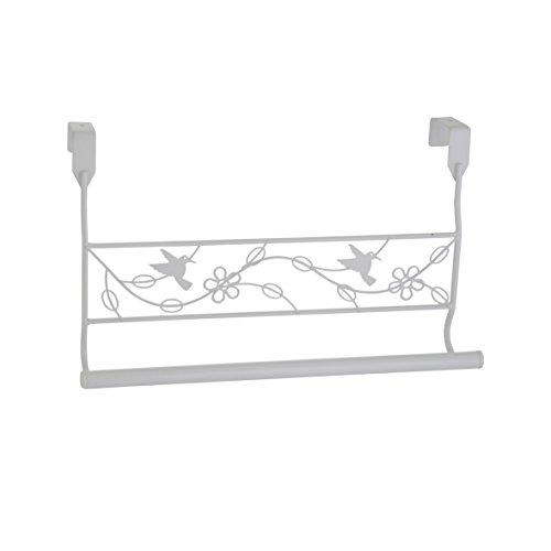 axentia-Trhandtuchhalter-Handtuchstange-mit-Vogelmotiv-Trgarderobe-aus-Metall-Garderobenstange-fr-das-Badezimmer-Schlafzimmer-ca-37-x-7-x-19-cm-wei-lackiert
