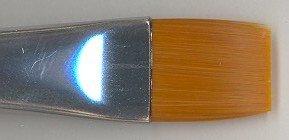 Snazaroo Flat Brush-White Handle Face Painting Brush, Large - 1
