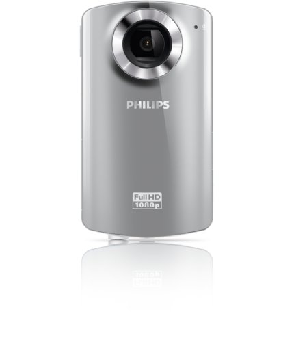 Philips CAM102SL/37 5 MP Digital Camera with CMOS Sensor and 4 x Optical Zoom (Silver)