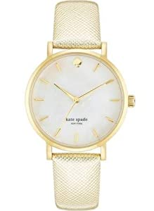 kate spade new york Women's 1YRU0491 Metro Analog Display Japanese Quartz Gold Watch