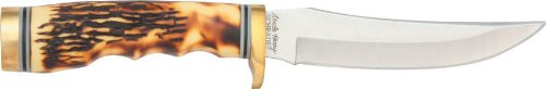Schrade 153Uh Uncle Henry Golden Spike Knife Fixed Blade