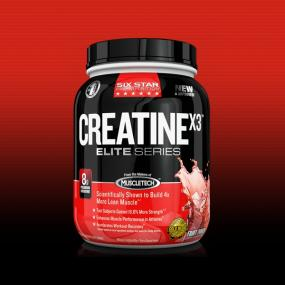 Six Star CreatineX3