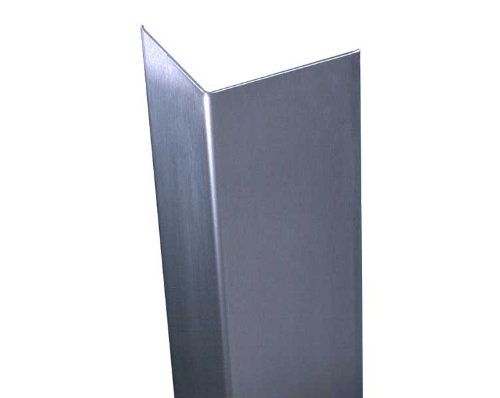 "Stainless Corner Guard, 1.5"" X 1.5"" X 48"""