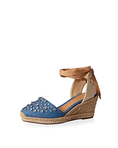 Schutz Women's Lace-Up Wedge Sandal